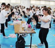 県美容技術選手権大会